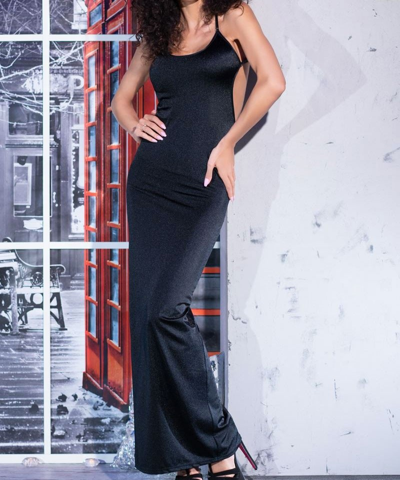 Robe longue sexy et string CR4245