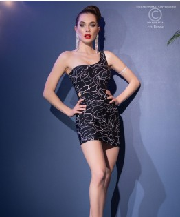 Robe sexy et string ficelle CR4418