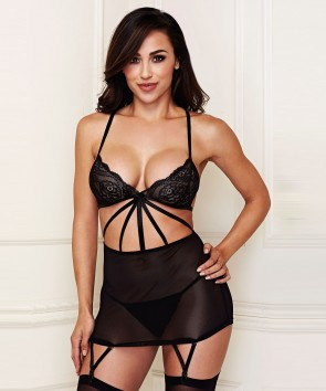 Nuisette Criss Cross Lace